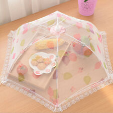 Umbrella Style Hexagon Gauze Mesh Food Covers Meal Table Mosquito Kitchen NP