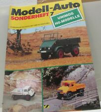 "Modell Auto   Sonderheft 7  ""Unimog H0 Modelle"""
