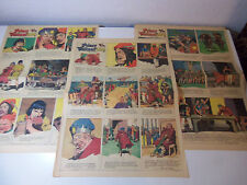 1948 Lot 3 FULL PAGE Sunday Comic Strips PRINCE VALIANT by HAL FOSTER