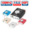 Nobsound NS-20G Mini Bluetooth Power Amplifier HiFi Stereo Headphone Amp 100W*2