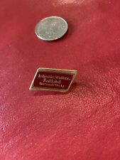 Johnnie Walker Red Label Old Scotch Whiskey Pin Badge