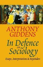 In Defence of Sociology-ExLibrary
