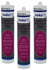 Fugen und Flächenfüller 310ml weiß Beko 5 Stück Spachtelmasse für Rigips