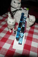 Good2Go ~ Two Breakaway Cat Collar ~ Beautiful Blue ~ Nwt