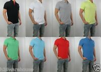 NWT HOLLISTER Men Muscle Fit Hawthorne Polo Shirt By Abercrombie ALL SIZE COLOR