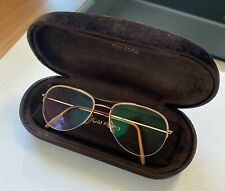 Tom Ford TF5011 Vintage Eyeglass - Gold frame - MADE IN ITALY