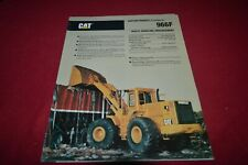Caterpillar 966F Waste Handling Wheel Loader Brochure DCPA14