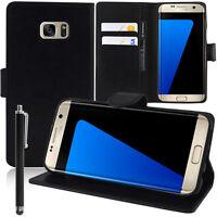 Etui Coque Housse NOIR Portefeuille Video pour Samsung Galaxy S7 edge G935F