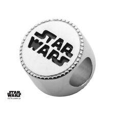 Star Wars Logo Sterling Silver Bead Charm
