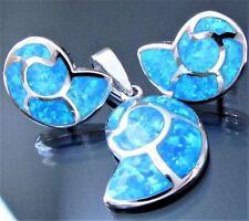 Synthetisch hergestellte-Opal Echtschmuck aus Sterlingsilber