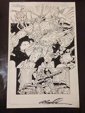 "OA Original Art! ALEX MILNE Transformers: MTMTE #21 Page 3 11"" by 17"""