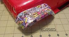 Hoon Sticker Bomb Wrap X2 rc drifter sakura rs4 pandora mst tamiya overdose yeah