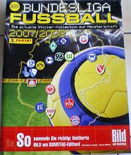 Panini-Futbol liga 07/08 - vacío Panini álbum-con 6 imágenes-sport bild -!