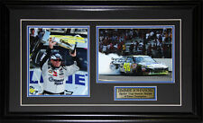 Jimmie Johnson NASCAR Auto Motorsport Racing Driver 2 Photo Collector Frame