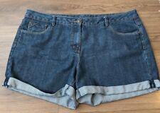 Ladies Size 18 Denim Shorts Blue George Jean