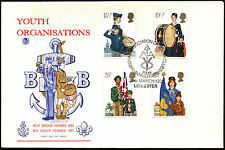 GB FDC 1982 Youth Organisation Leicester H/S #C41556