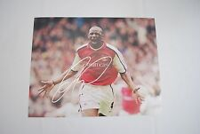 Patrick Vieira Hand Signed Autograph Picture Arsenal FC 11x14 W/ Proof