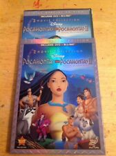 Pocahontas 2-Movie Collection(Blu-ray/DVD, 2012,2-Disc)NEW Authentic Disney US