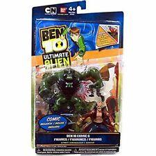 * NEW NIB Ben 10 Ultimate Alien COMIC & Figures ULTIMATE HUMUNGOUSAUR & AGGREGOR