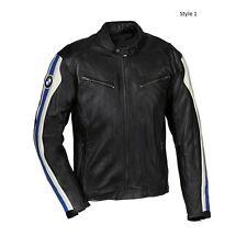 BMW Black Motorcycle Leather Jackets Men Motorbike Leather Jacket CE Approved