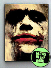 Batman Joker Heath Ledger Glow In The Dark Framed Cool Mini Poster