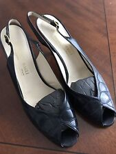 Vintage BRUNO MAGLI BLUE LADIES HEELS ( MADE IN ITALY ) SIZE 9