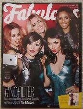 The Saturdays - Fabulous Magazine – 13 April 2014