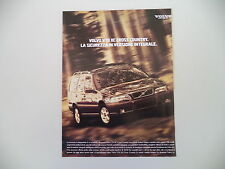 advertising Pubblicità 1998 VOLVO V 70 V70 XC CROSS COUNTRY