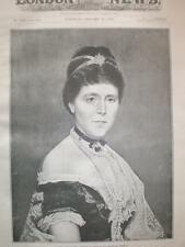 Photo Late Empress Augusta of Germany Prussia 1890