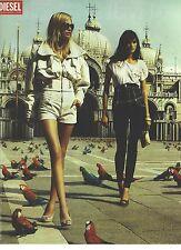 PUBLICITE ADVERTISING  2007  DIESEL vetements jeans