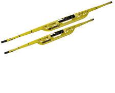 "2 PC 18"" 20"" Oktane Yellow Windshield Wiper Wipers Blade Blades Set of 2"