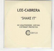 (EC710) Lee-Cabrera, Shake It - DJ CD