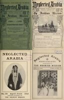 98 RARE OLD ISSUES OF NEGLECTED ARABIA - JOURNAL OF THE ARABIAN MISSION ON DVD