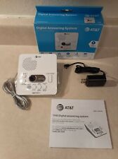 AT&T (1740WH) Digital AnsweSystem with Time and Day Stamp, White