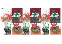 NECKFACE X BAKER Skateboards Sorcery Survival Sticker Pack (12 Stickers)