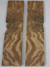 plaquette bloc loupe ronce de chene ebenisterie coutellerie oak knife n°1