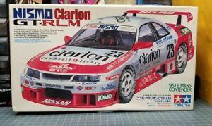 Tamiya NISMO Clarion Nissan Skyline GT-RLM R33 GTR LM JDM Le Mans Model Kit