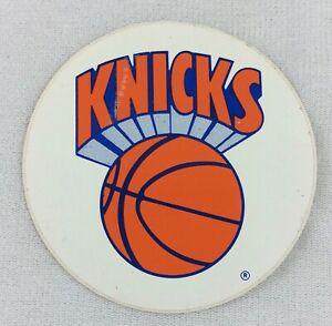NBA 1989-92 New York Knicks Basketball 3-inch Logo Sticker