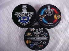 2016 NHL Stanley Cup Playoffs St. Louis Blues Hockey Three*Puck*Souvenir*Pack