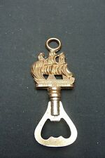 """VINTAGE ENGLISH  BRASS BOTTLE OPENER …GALLEON SHIP """"THE VICTORY"""""""