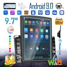9.7 2Din Android8.1 Pantalla vertical Coche Radio estéreo GPS WiFi Bluetooth USB