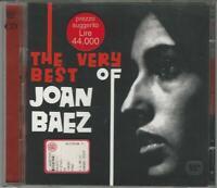 CD DOPPIO: THE VERY BEST OF JOAN BAEZ  1998 CON 40  BRANI  NUOVO NON SIGILLATO