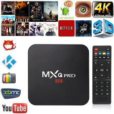 MXQ PRO Android 6.0 TV BOX 4K Quad Core HD 1080p WIFI HDMI Player Latest 16.0
