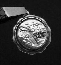 Vintage Sterling Silver Niagara Falls Charm Pendant 22885