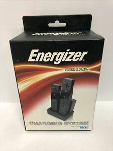 Energizer Power & Play - Charging System for Wii and Wii Motion Plus - 2 Battery
