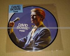 DAVID BOWIE - FAME - PICTURE DISC VINYL - 40th ANNIVERSARY  COLLECTOR  NEUF