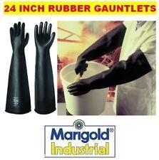 "CALENDULA industriale IMPERATORE me108 RINFORZATO 24 ""guanti di gomma Gauntlets 9,5 L"