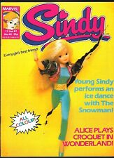 SINDY # 40 RARE MARVEL UK COMIC TOY DOLLS PEDIGREE ALICE IN WONDERLAND COLOR