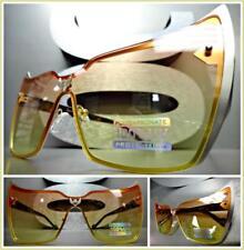 CLASSIC VINTAGE RETRO CAT EYE Style SUN GLASSES Gold Tortoise Horn Rimmed Frame