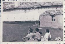 FOTO ALPINISTI AL RIFUGIO VITTORIO SELLA 1939 ALPE LAUSON Valle d'Aosta 7-84